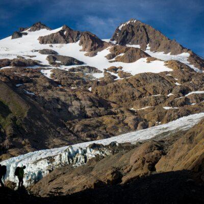 Ventisqueros Glacier Canyon.