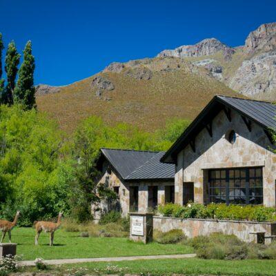 El Lodge, en el sector Valle Chacabuco - Parque Nacional Patagonia Chile.