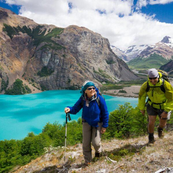 La Gloria Pass, above Lago Verde - Valle Hermoso, Patagonia National Park Chile.