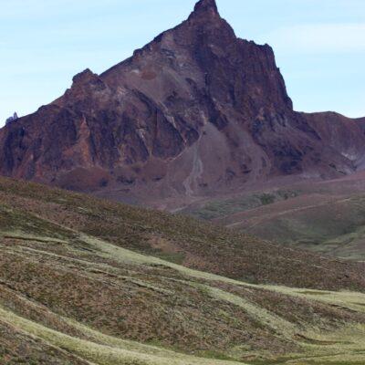 Monte Zeballos, Meseta del Lago Buenos Aires - Parque Nacional Patagonia Argentina.