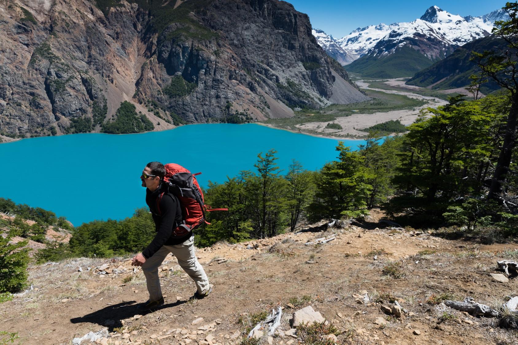 La Gloria Pass, Valle Hermoso - Patagonia National Park Chile.