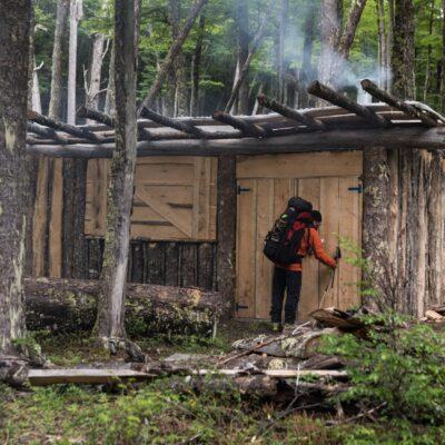 Our Hut Renoval.