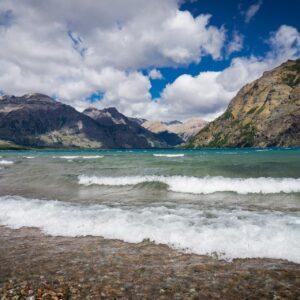 Lago Jeinimeni - Travesía Pathfinder, Parque Nacional Patagonia Chile.