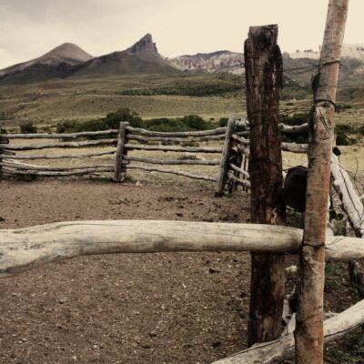 Cerro Colorado (Colorado Hill), Chile Chico - Patagonia National Park Chile.
