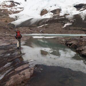Aproximación al Glaciar Guardaparques.